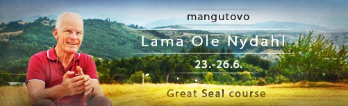 [Banner] Summer Course with Lama Ole Nydahl in Mangútovo, 23.-26.6.2017